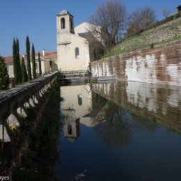 Reflections at Couvent des Minimes