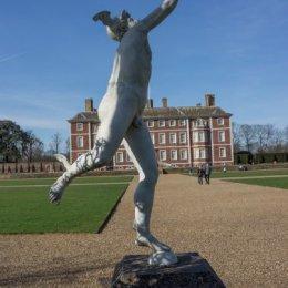 Statue of Mercury at Ham House